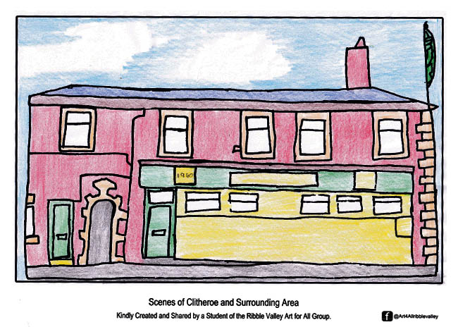 Art For All - Ribble Valley - Free Colouring